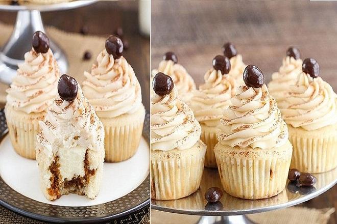 công thức làm cupcake tiramisu