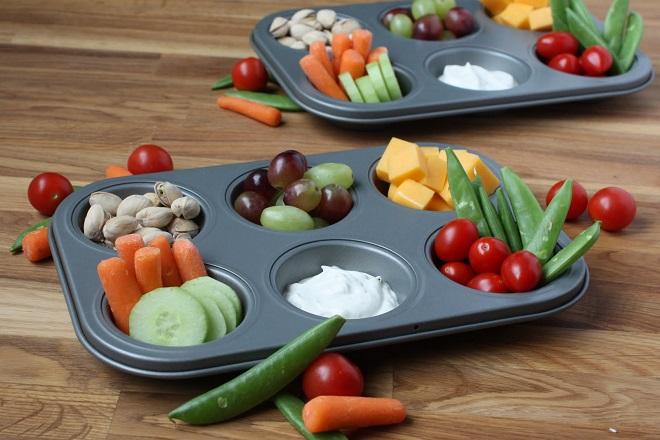 chia nhỏ bữa ăn khi ốm nghén