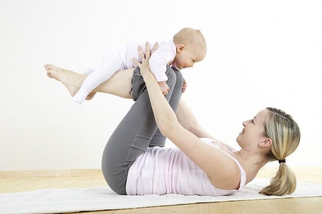 giảm cân sau sinh 9 tháng