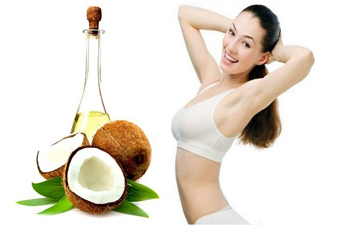 Giảm cân sau sinh bằng dầu dừa