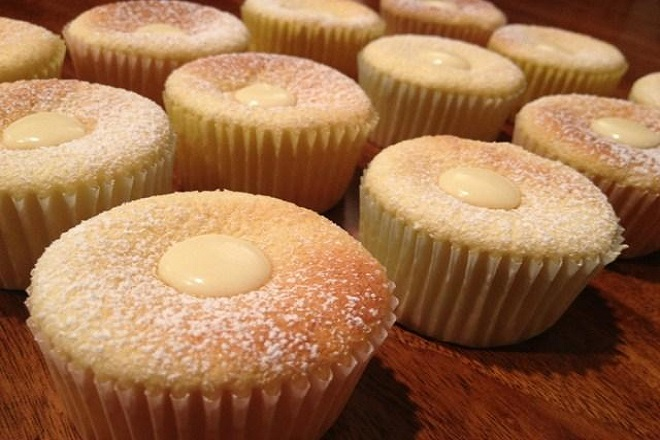 học làm bánh cupcake hokkaido chiffon