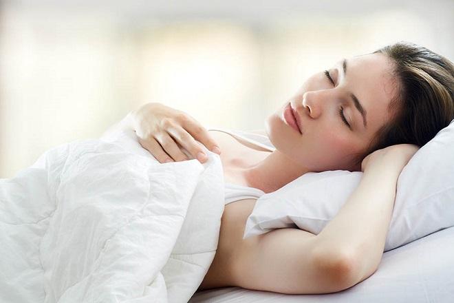 ngủ đủ giấc để giảm cân