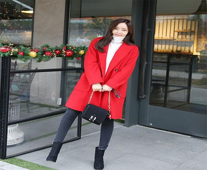 set áo len+skinny+trench coat cho bà bầu sành điệu
