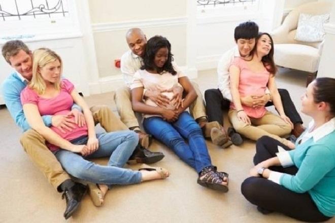 tuần thai thứ 21 bà bầu nên tham gia lớp học tiền sản
