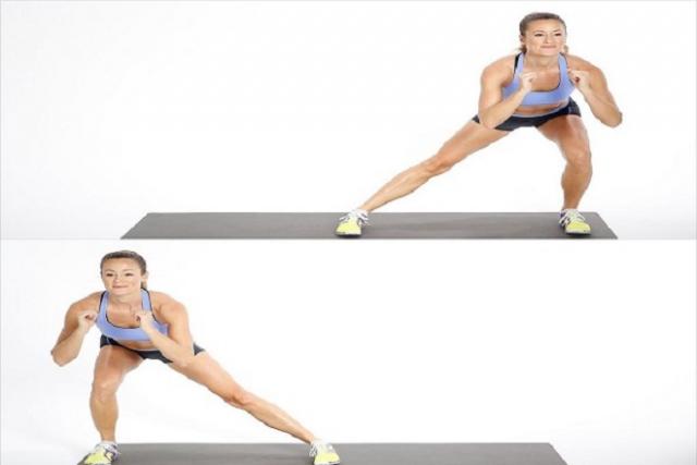 Bài tập Side squat
