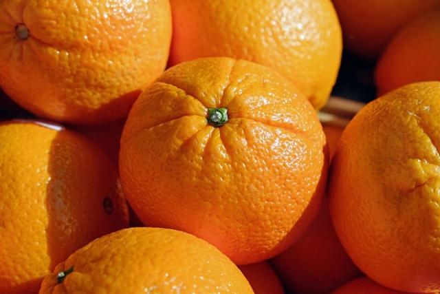 những trái cam