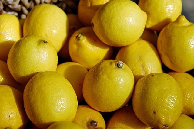 những trái chanh