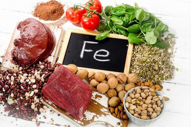 thực phẩm giúp bổ máu