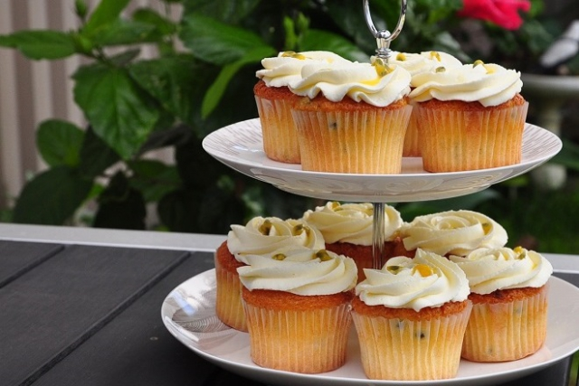 bánh cupcake poppy
