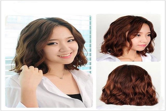 các kiểu tóc uốn setting trẻ trung cho nàng tóc ngắn