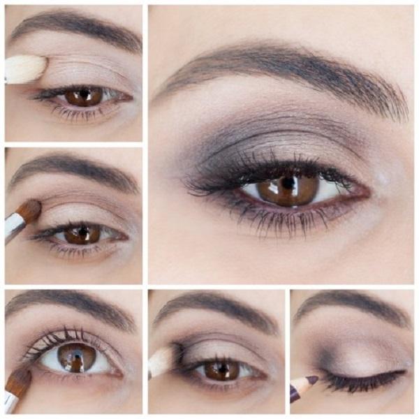 cách trang điểm mắt khói đẹp cho bạn gái