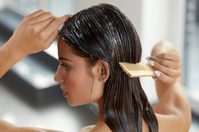 chăm sóc tóc bằng kem ủ