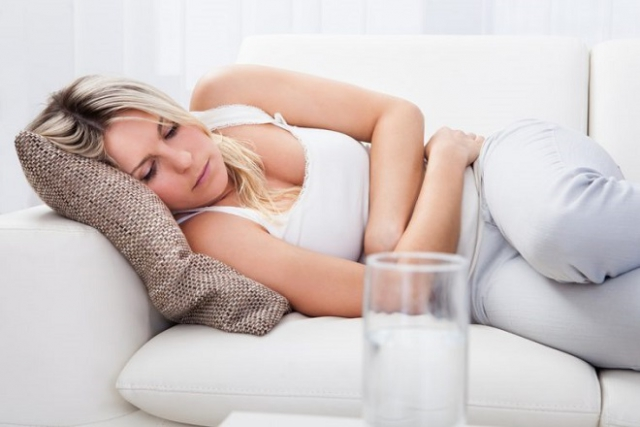 đau bụng sau sinh