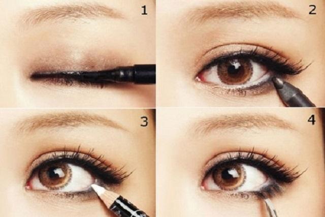 kẻ đường eyeliner mắt cún