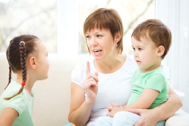 khuyến khích trẻ tập nói