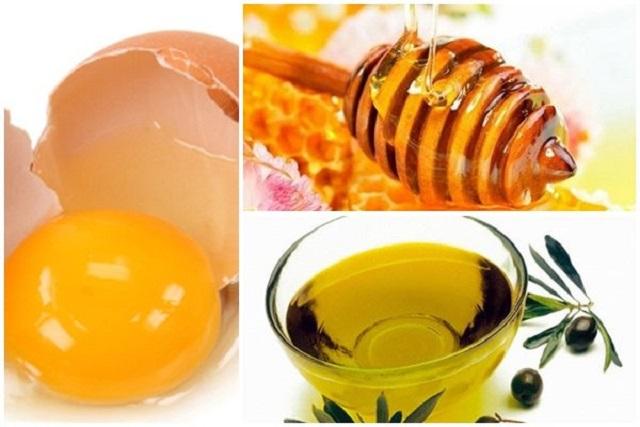 mặt nạ trứng gà mật ong oliu