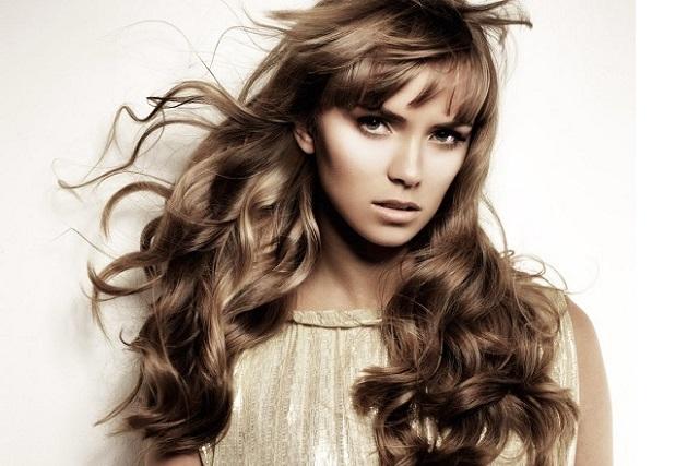 mẫu tóc xoăn vintage