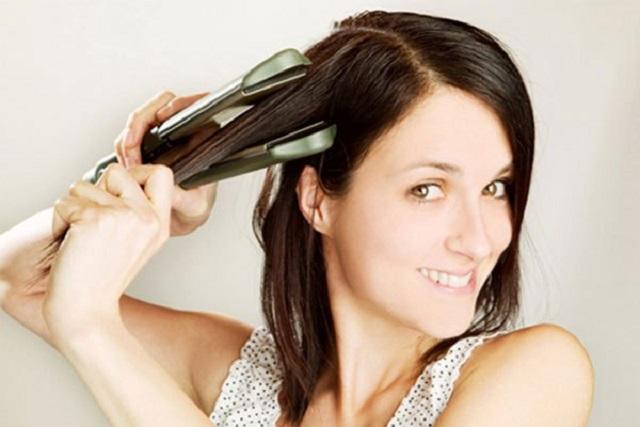 sau sinh ép tóc có ảnh hưởng gì không