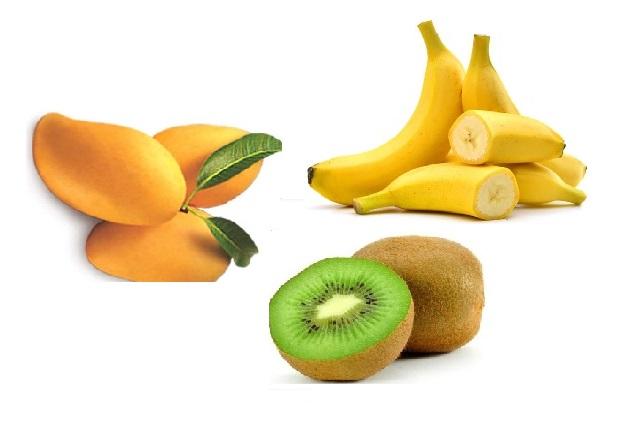 sinh tố kiwi chuối xoài