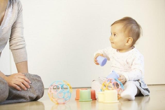 tập thói quen cho trẻ sơ sinh