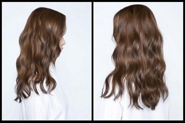 tóc gợn sóng tự nhiên