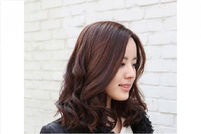 tóc ngang vai mái dài