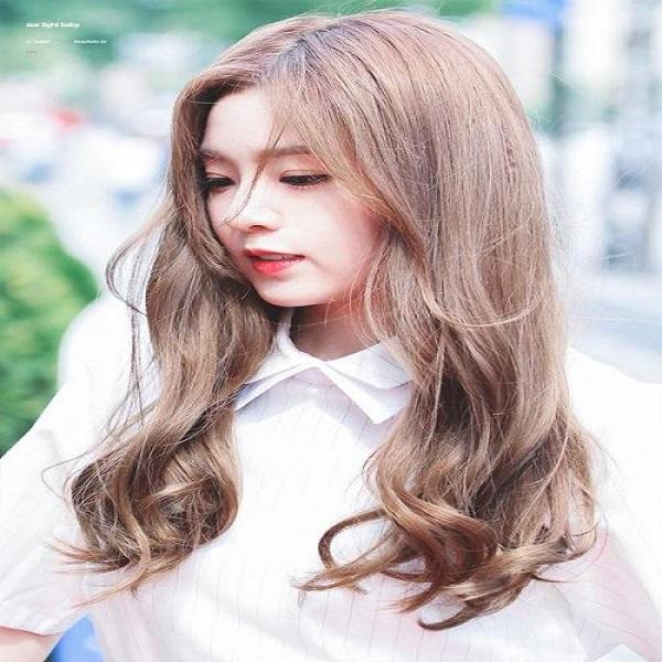 tóc uốn cho khuôn mặt dài gầy