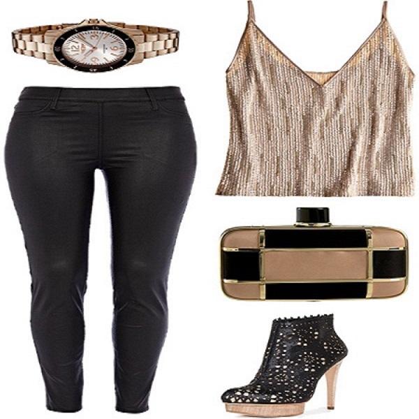 trang phục đi bar phong cách đơn giản