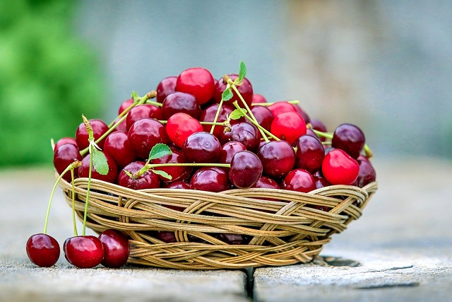 giỏ cherry