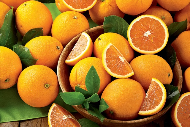 những quả cam