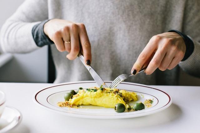 bữa sáng với trứng