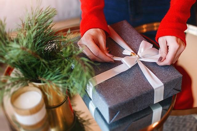 chuẩn bị quà tặng