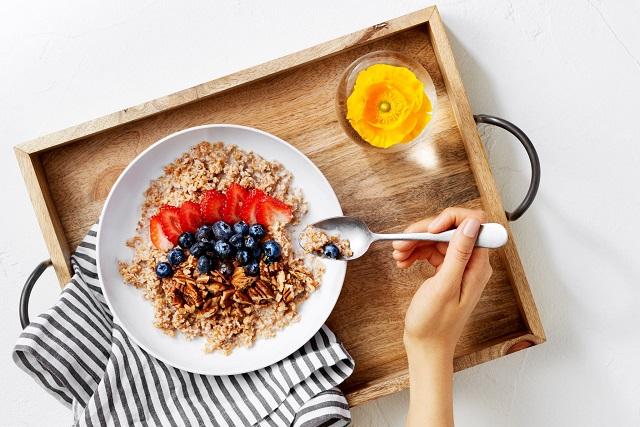 món ăn giảm cân buổi sáng