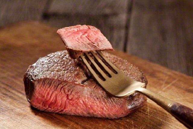 món ăn giảm cân từ thịt bò