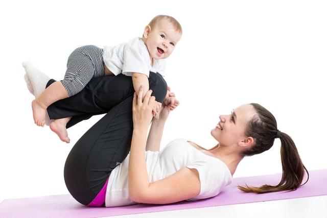 sau sinh thường 4-8 tuần nên tập yoga