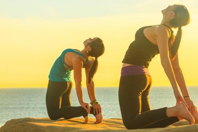 tăng cường hoạt động hệ cơ quan sau sinh bằng cách tập yoga