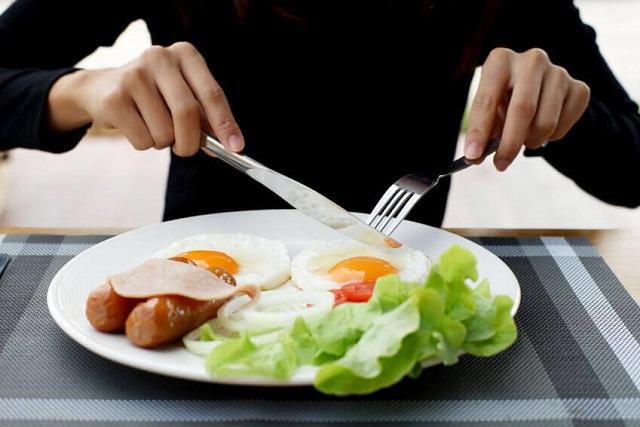 thức ăn giảm cân bữa sáng