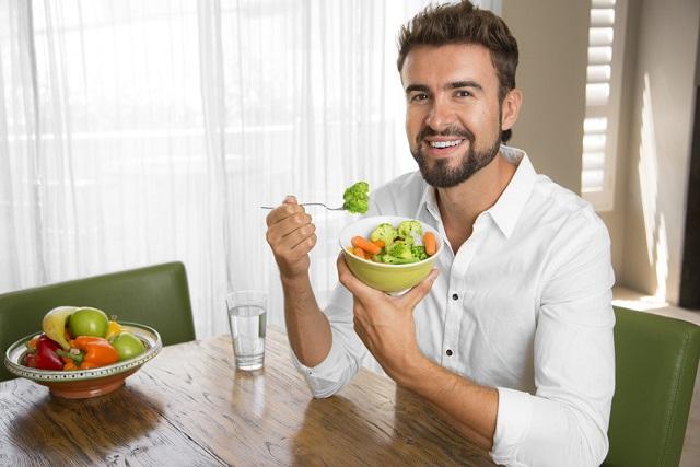 thức ăn giảm cân cho nam giới
