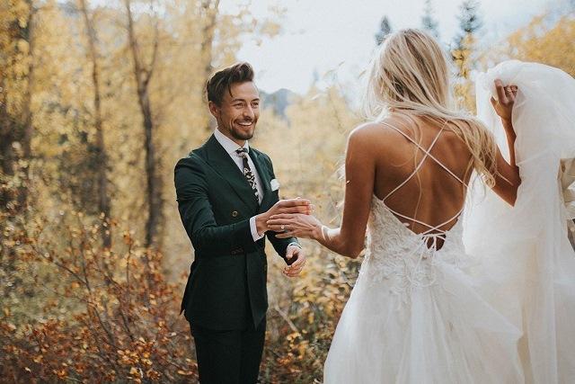đám cưới ở trong rừng