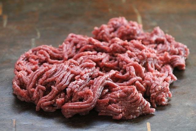 thịt xay nhuyễn