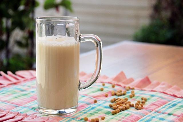 ly sữa đậu nành