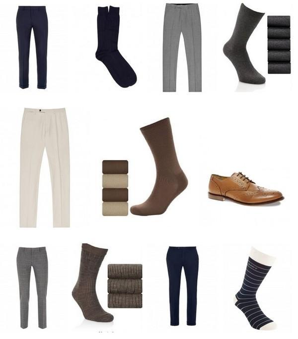 Cách phối màu giày với quần áo nam cực chuẩn