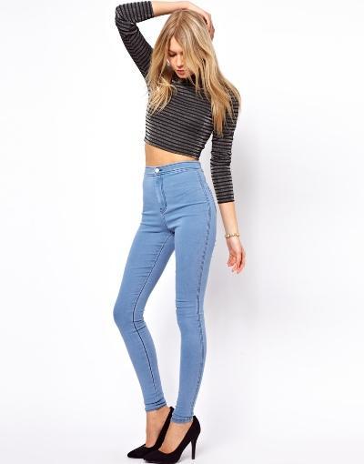Cách chọn quần jean nữ cho người gầy trở nên đầy đặn