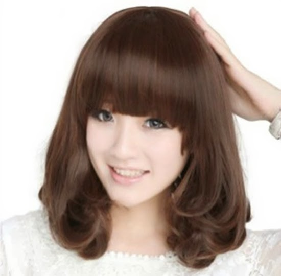 Các kiểu tóc ngắn dễ thương cho gương mặt tròn hot hiện nay