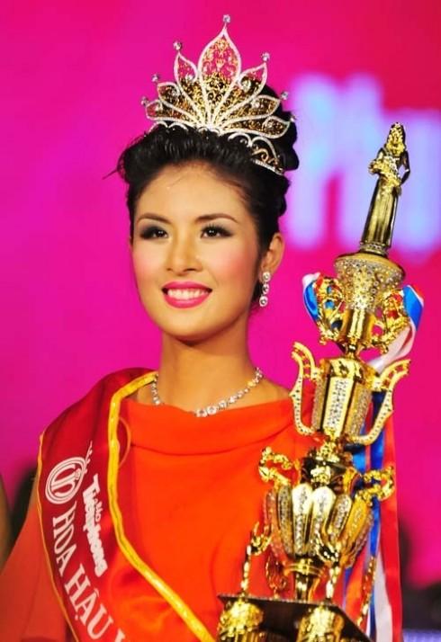 Danh sách hoa hậu Việt Nam qua các năm
