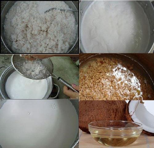 Cách làm dầu dừa nguyên chất ngay tại nhà thủ công