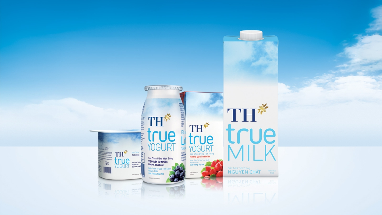 Bảng giá sữa TH True Milk mới nhất & đầy đủ nhất