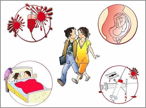 Các bệnh lây truyền qua đường máu dễ mắc phải nhất