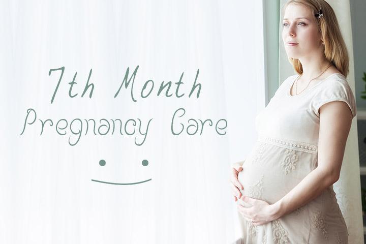 Mang thai tháng thứ 7 cần chú ý những gì?