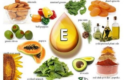 Thực phẩm chứa nhiều collagen protein và vitamin E